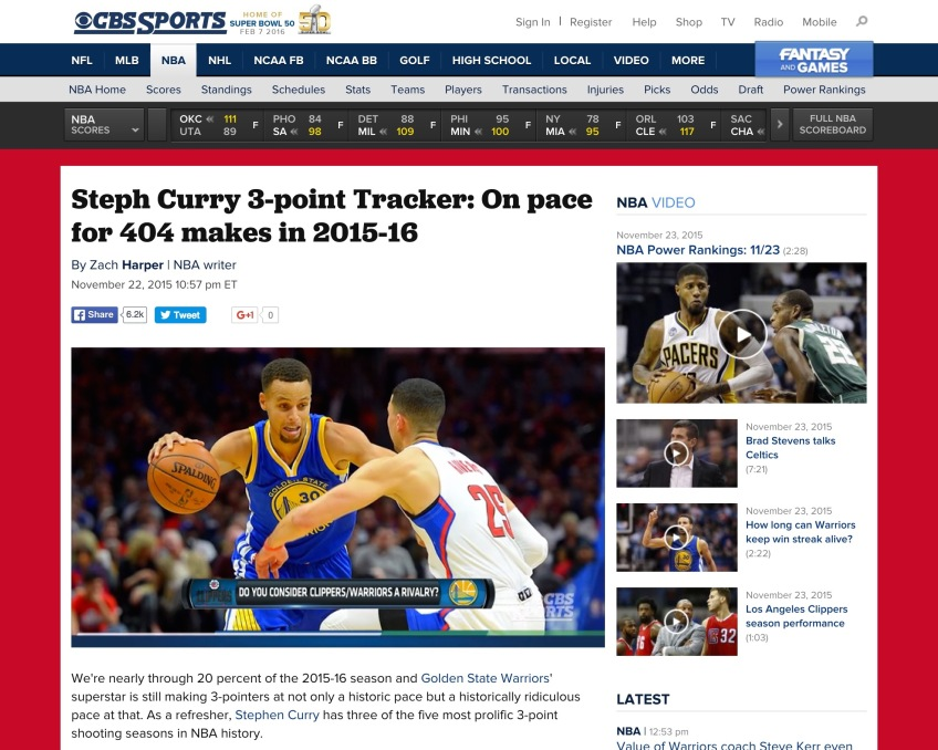 Steph Curry On Pace Headline